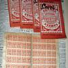 Rare Orange Premium Stamps in Books