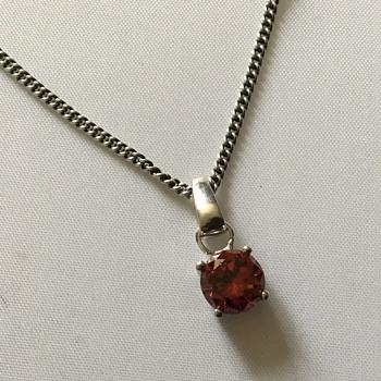 Silver necklace  - Silver