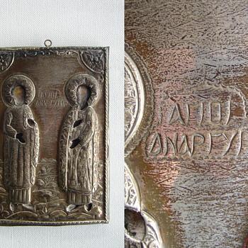 Greek icon - Fine Art
