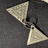 Love, Purity , Fidelity- Masonic pendants circa 1888