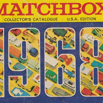 Much More Money Matchbox Monday 1968 Catalog - Model Cars