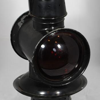 Adlake 27 Caboose Cupola Lamp (about 1900)