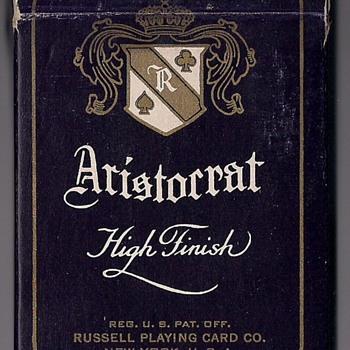 Aristocrat High Finish 727 - Cards