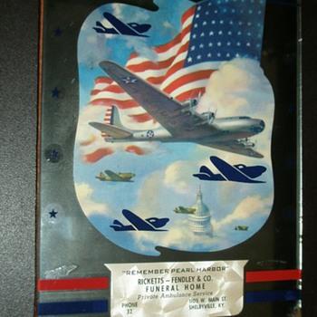 Remember Pearl Harbor Items