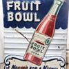 Drink Fruit Bowl Soda Sign
