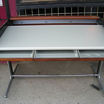 Herman Miller George Nelson Action Roll Top Desk - Furniture