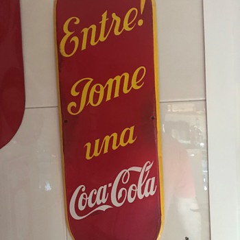 New sign to my collection - Coca-Cola
