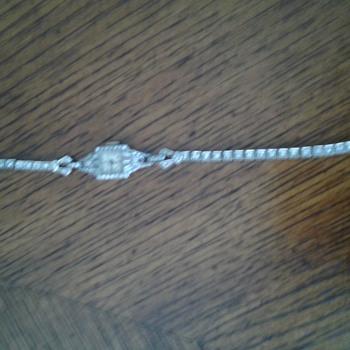 Girard Perregaux Art Deco Diamond Watch