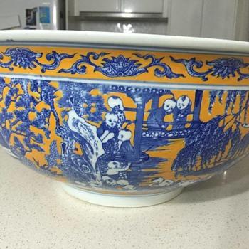 My massive, very heavy fruit bowl