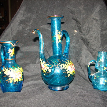 need help with blown glass set - Art Glass