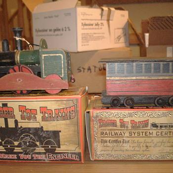 Model Train (Wooden) - Railroadiana