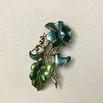 Marcel Boucher Flower - Costume Jewelry