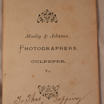 Martha Topping Photo Album dating help Prt 4b: Cabinet Cards - Photographs