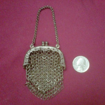 ~~Vintage Metal Mesh Coin Purse~~ - Bags