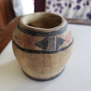 ? Antique native pottery  - Pottery