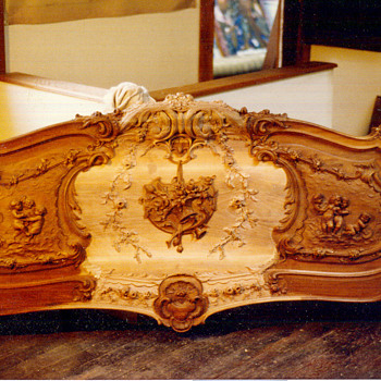 King size French bed - Furniture