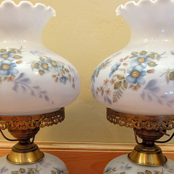 Vintage Lamps Set of two - Lamps