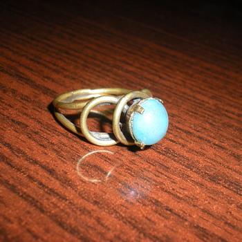 Art Nouveau ring. - Art Nouveau