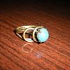 Art Nouveau ring.