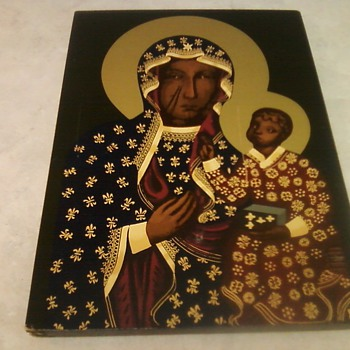 RELIGIOUS ICON - Folk Art