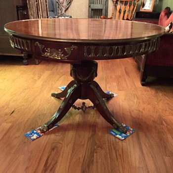 does anyone know anything about this table?