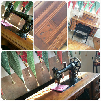 White Treadle Sewing machine