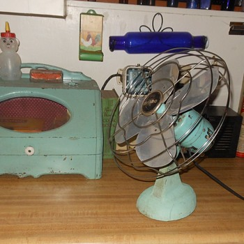 Eskimo Model 54R Electric Fan C irca 1950 - Tools and Hardware