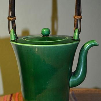 Awaji Teapot - 1900-1920? - Pottery