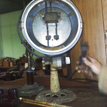 Stewart Double Carbon Arc Light - Lamps