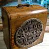 1940s Ampro Projector Speaker Cabinet