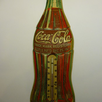 1936 Coca-Cola thermometer - Coca-Cola