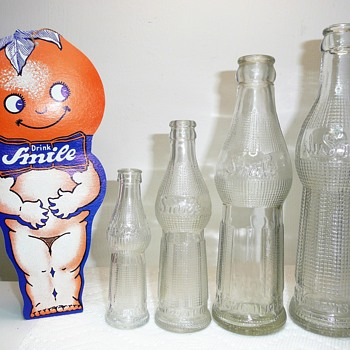Orange Smile Bottles - Bottles