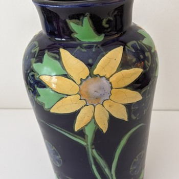 Japanese Pottery Majolica Awaji? - Asian