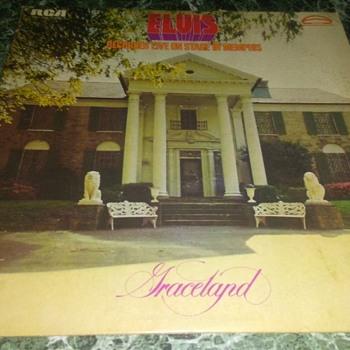 Mr. Elvis Aaron Presley...On 33 1/3 RPM Vinyl - Records