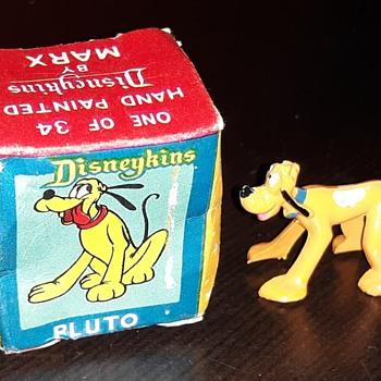 Marx Disneykins Pluto Mickey's Nonanthropomorphic Dog - Advertising