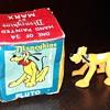 Marx Disneykins Pluto Mickey's Nonanthropomorphic Dog