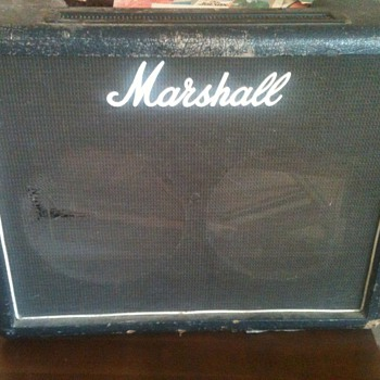 50 watt Marshall combo fawn restoration - Guitars