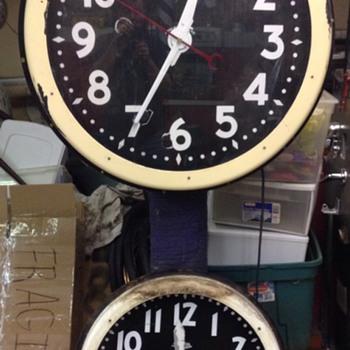 A mini BIG clock by lumi dial
