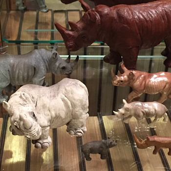 More Rhino Figurines - Animals