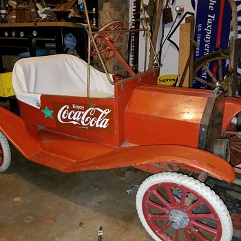 1-2 model t go kart - Coca-Cola