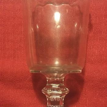 Eapg? Pedestal glass