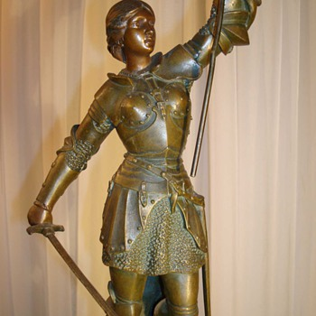 Joan Of Ark Bronze Statue by Berthoz