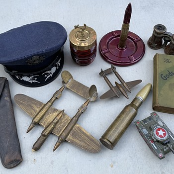 Some trench art etc. - Military and Wartime