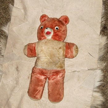 Vintage Teddy Bear Probably a Gund Teddy - Dolls