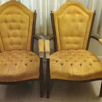 Grandpa's chairs from 60's
