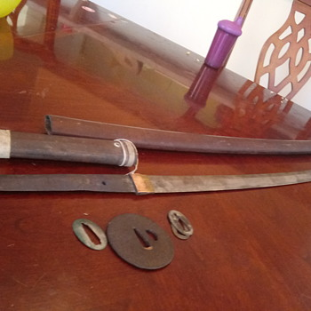 1800s Japanese sword signed - Asian
