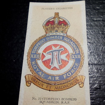 John Player's & Sons RAF Tobacco Cards - Tobacciana