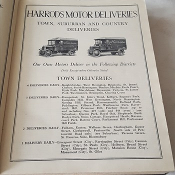 Harrods Catalogue 1929 - Books