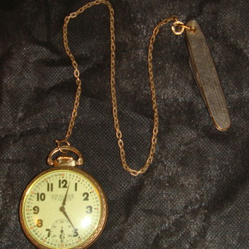 Pocket Watch early 1950s purchased?? Holland railroader 17 jewels - Pocket Watches