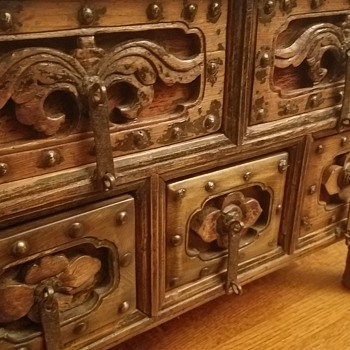 Antique Chinese Chest - Asian